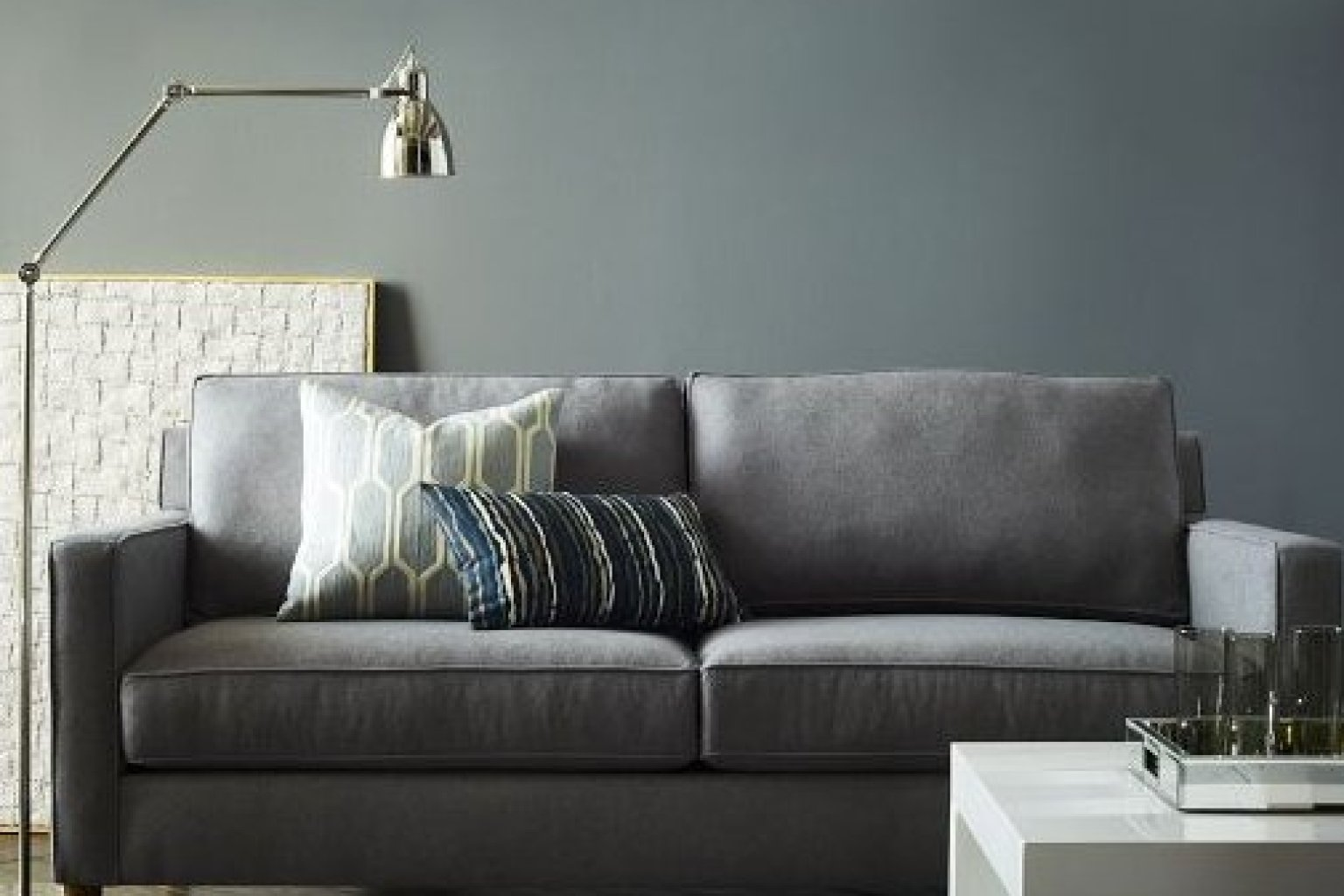 6 couches for small apartments that will actually fit in for Modern apartment furniture ideas