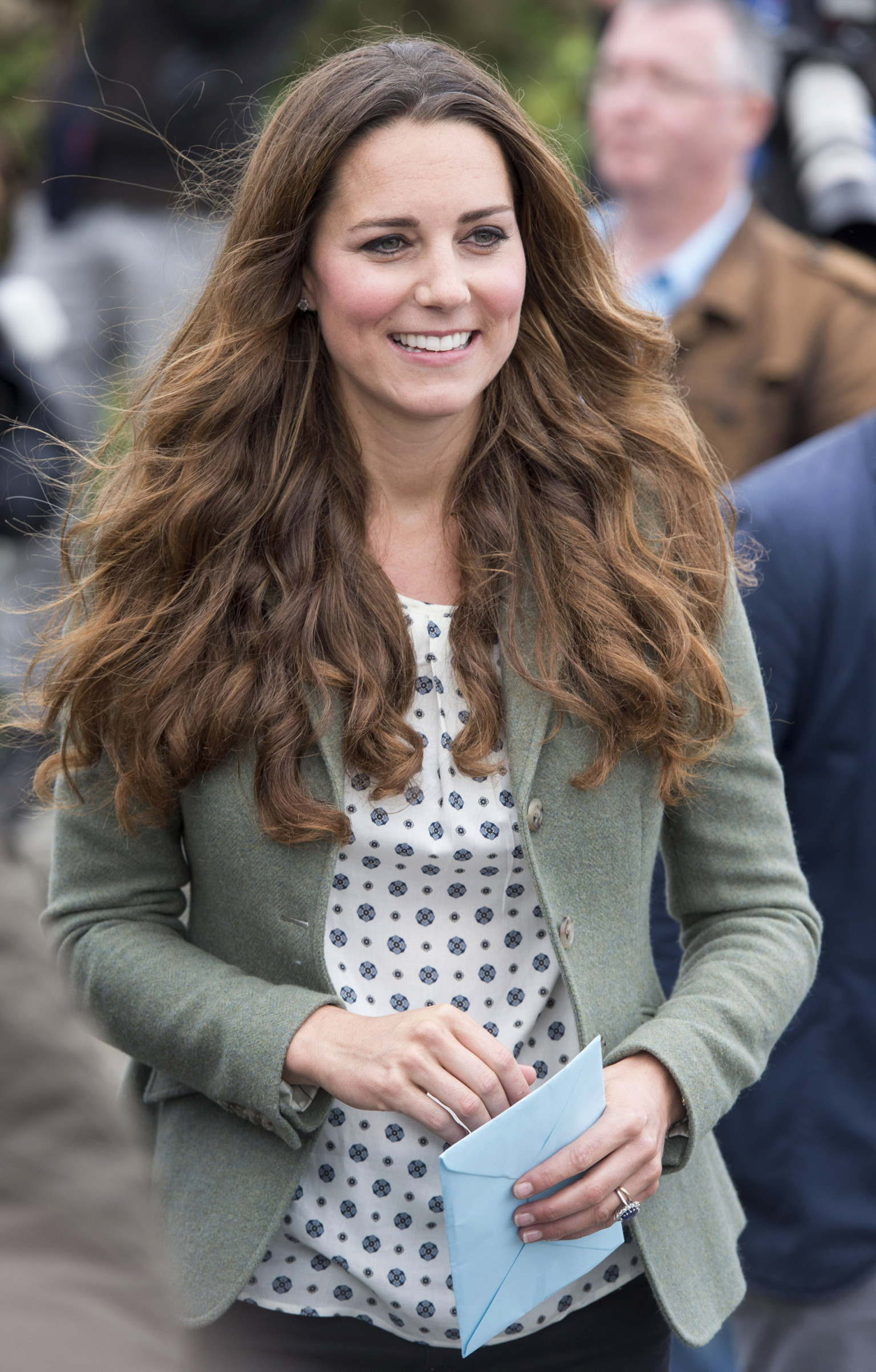 Kate Middleton Makes First Post Baby Appearance In Skinny