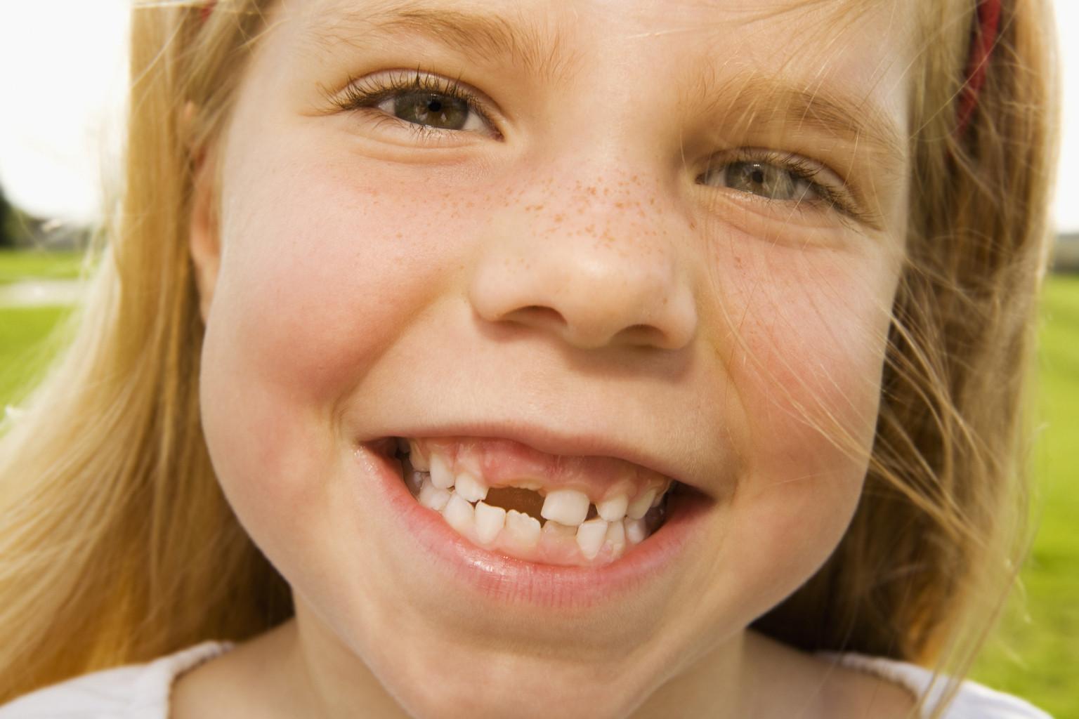 Количество зубов у детей фото