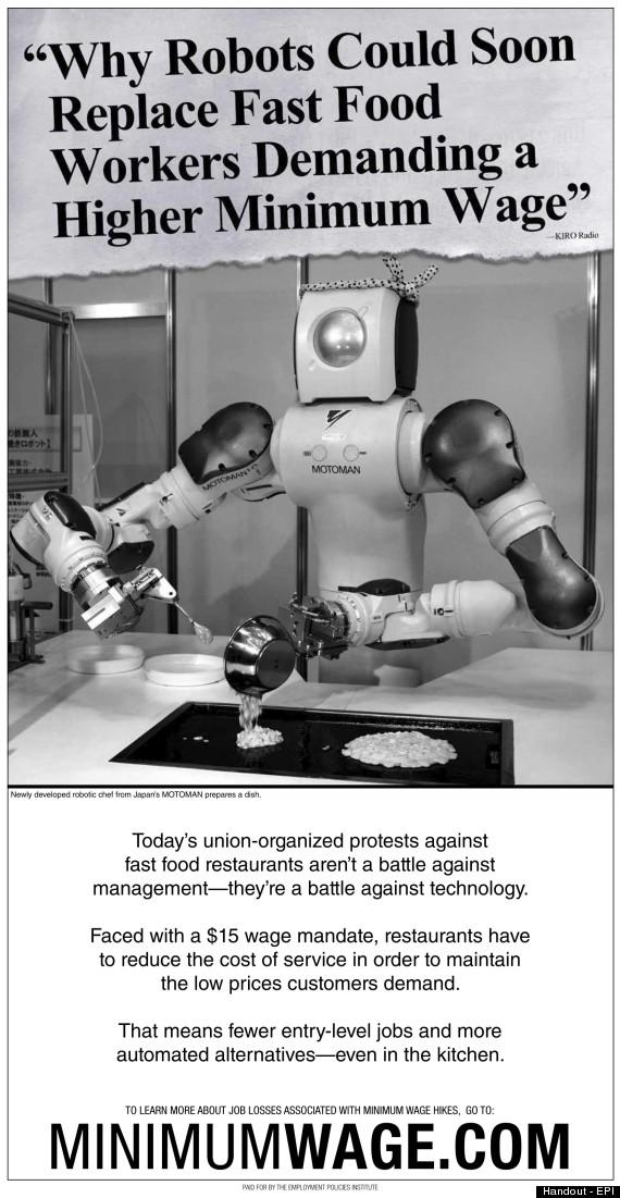 minimum wage robot