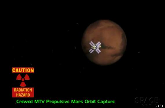 radiation mars