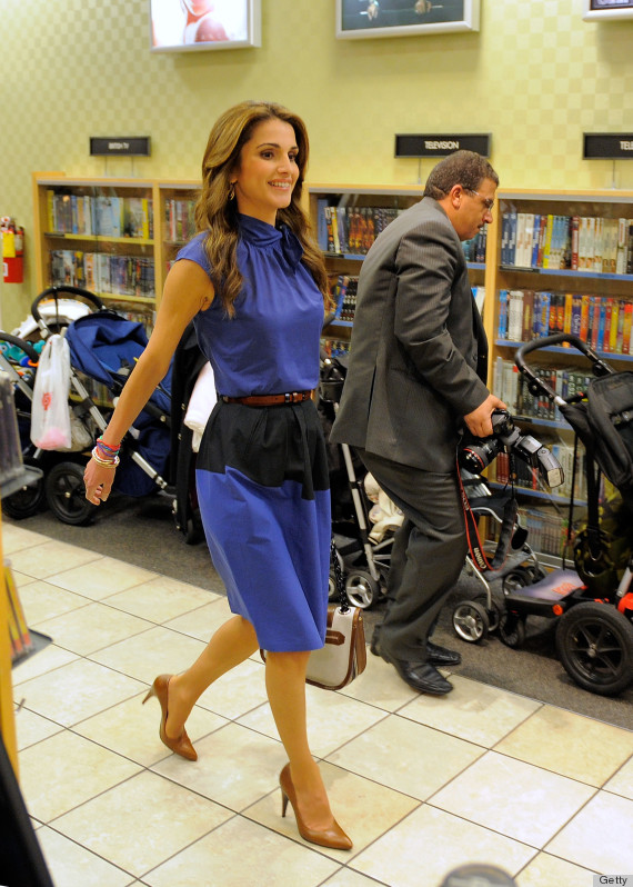 Queen Rania s Style Just Keeps Getting Better  PHOTOS Queen Rania Al Abdullah Husband
