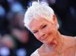 Judi Dench's Slit Dress Sparkles In Venice (PHOTOS)