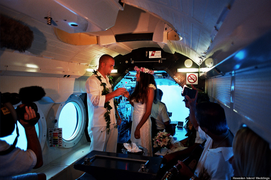 submarine wedding