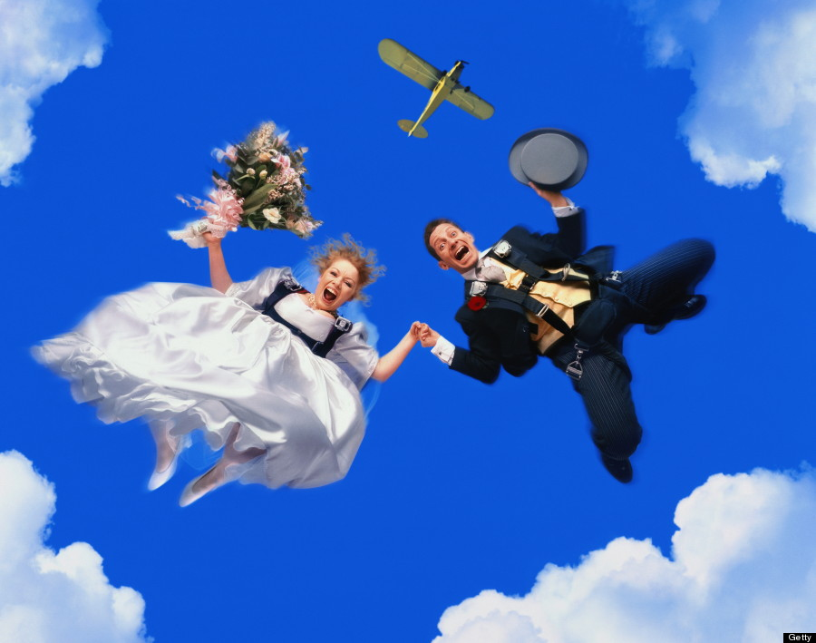 skydive couple