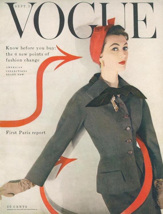 vogue september 1953