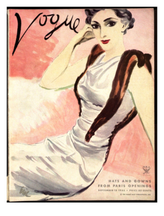 vogue september 1933