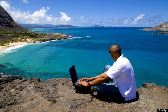nature man laptop hawaii