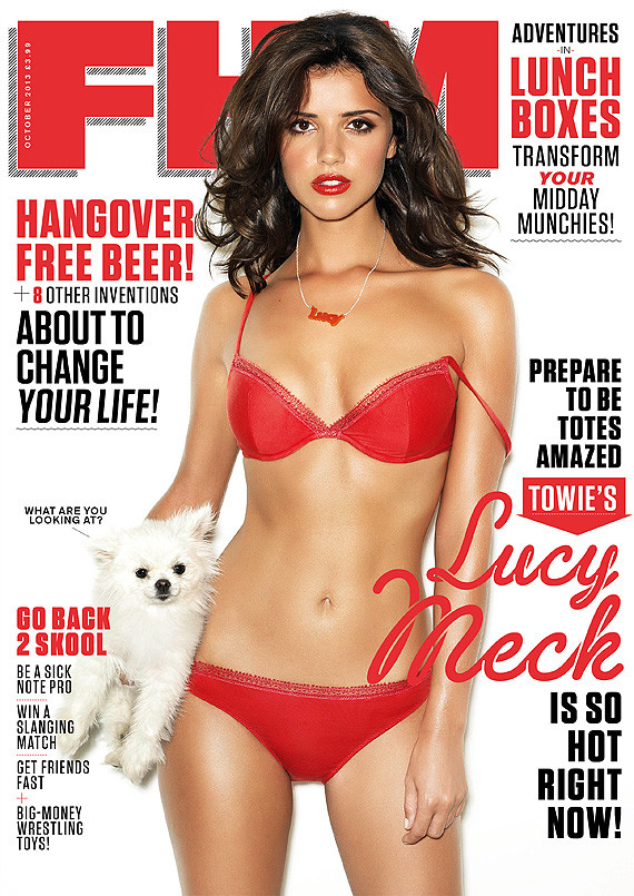 lucy mecklenburgh fhm cover