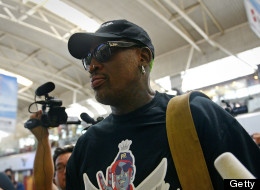 Rodman Arrives In North Korea