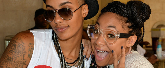 Raven-Symone And Girlf...
