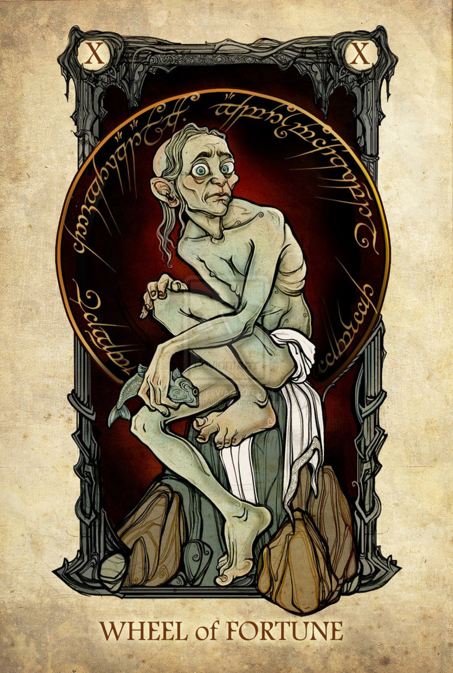 15 'Lord Of The Rings' Tarot Cards