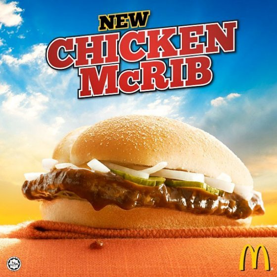 mcdonalds chicken mcrib