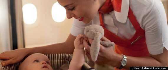 Etihad Airlines Inflight Nannies