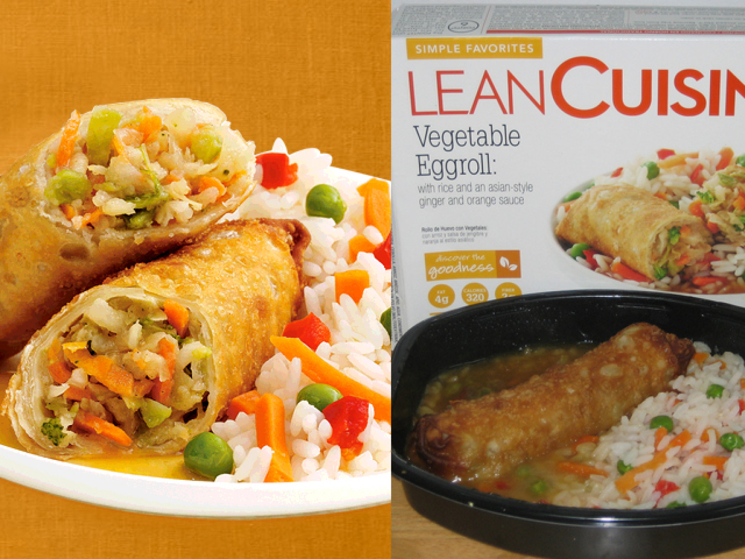 Food ads vs real food photos huffpost for Lean cuisine vs fast food