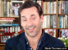 Jon Hamm on reality TV, reality TV, Jon Hamm, Mad Men, Marlo Thomas and Jon Hamm