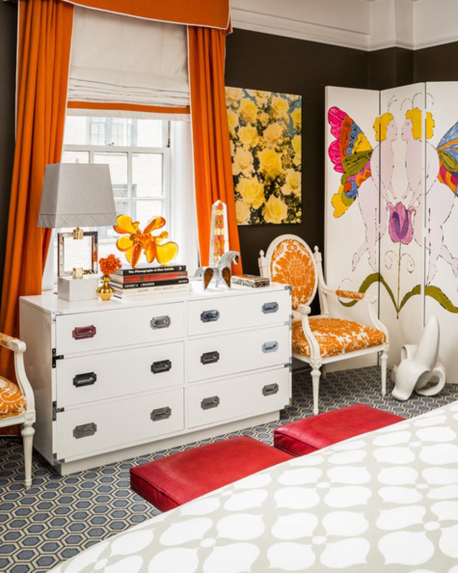 Jonathan Adler And Simon Doonan Show Off Their New York City - Jonathan adler bedroom