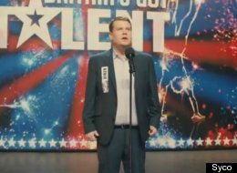 FIRST LOOK: James Corden Is No Brad Pitt As Paul Potts In 'One Chance'