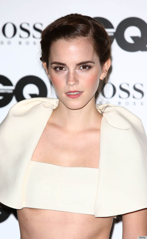 Emma Watson S Gq Awards Look Is Utterly Perplexing Photos