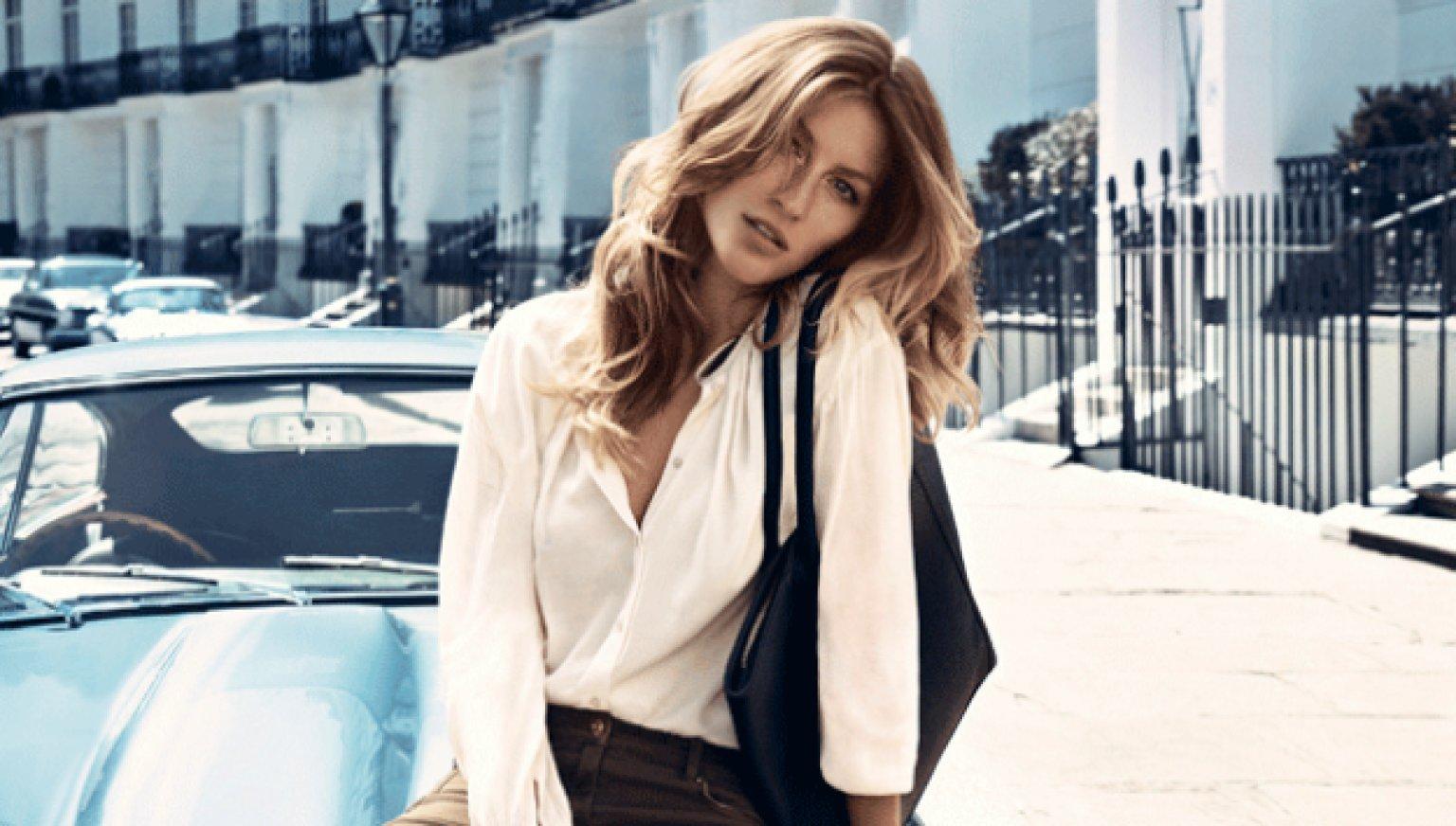 Gisele Bundchen Is The New Face And Voice Of H&M's Autumn ... Gisele Bundchen Facebook