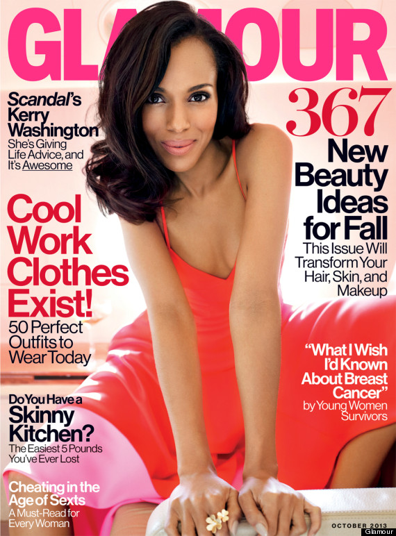 kerry washington glamour