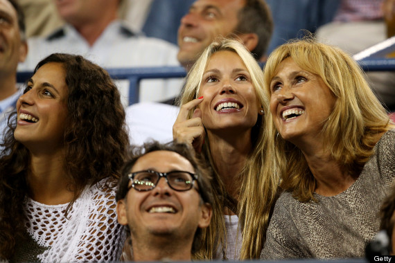 Rafael Nadal Finds Support In Girlfriend Xisca Sister Isabel And Mother Ana Maria Huffpost