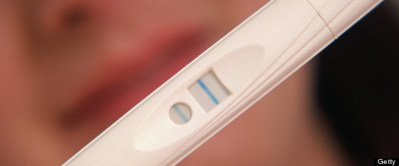 Women Selling Positive Pregnancy Tests