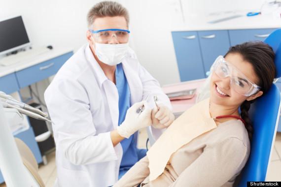 dentist happy