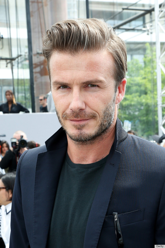 Male Celebrities Who Give Us Major Hair Envy PHOTOS HuffPost - Hair product david beckham uses