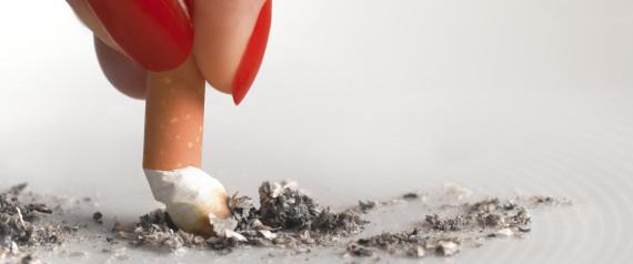 Si la jeune fille ne veut pas cesser de fumer