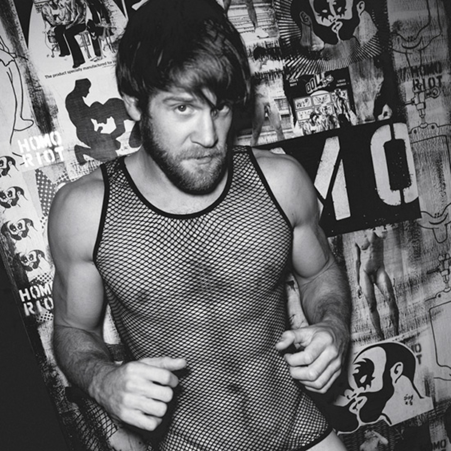 naked gay model