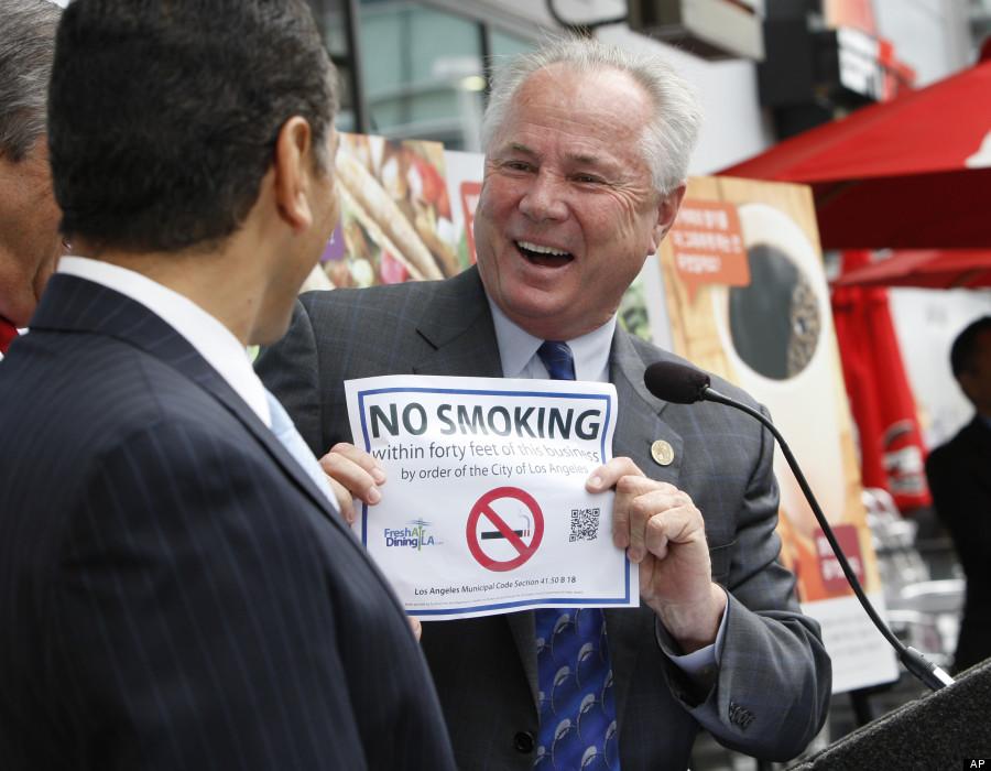smoking ban los angeles