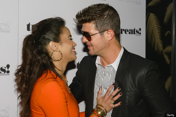 robin thicke paula patton