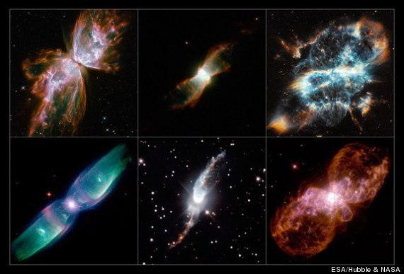 hubble nebulae