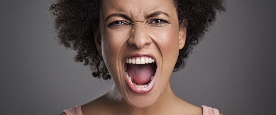 Words Women Are Tired Of Angry Black Woman Face