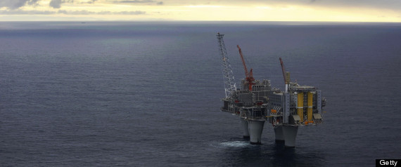 North Sea Gas Leak