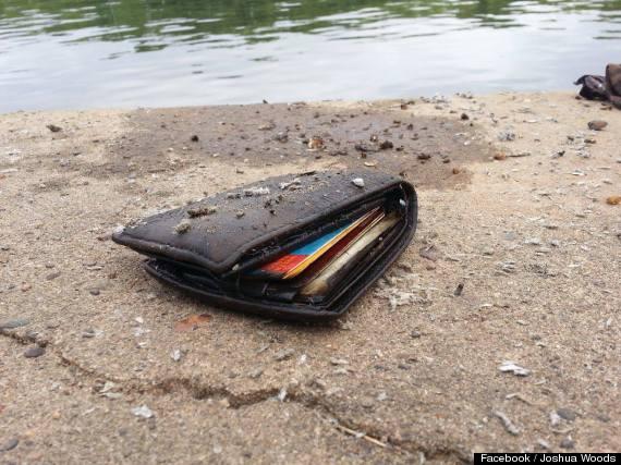joshua woods finds wallet