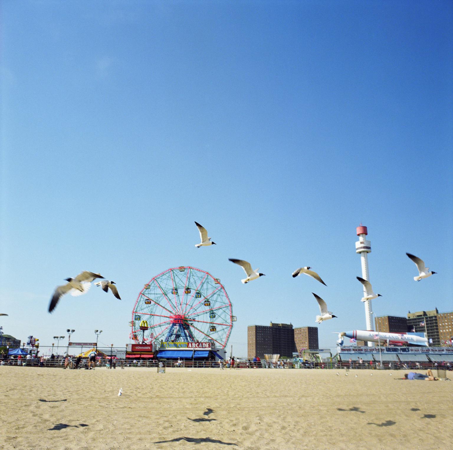 Coney Island Beach: A Rare Moment Of Good