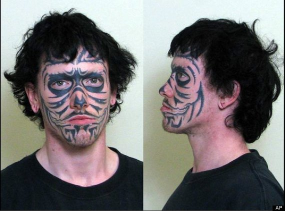Bitch facial tattoo definitions finer than