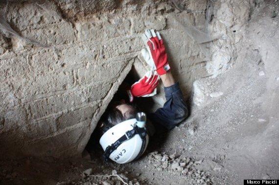 slave tunnels rome
