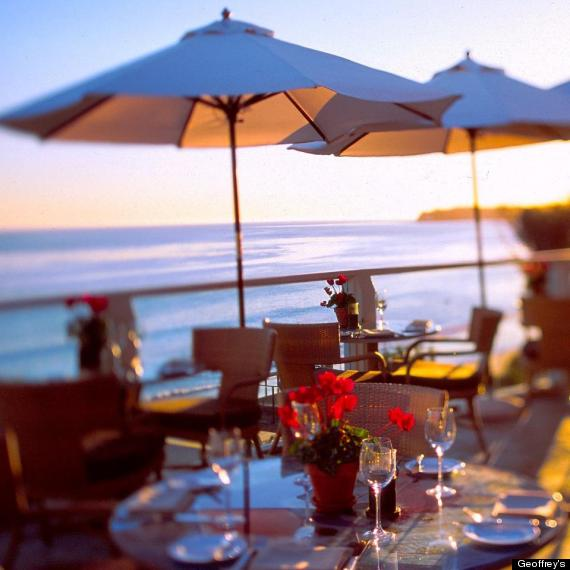 Top 10 restaurants with a view in los angeles photos for Romantic restaurants in california