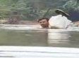 Abdul Mallik, Primary School Teacher, Swims Through A River Every Day To Get To School In Malappuram, India