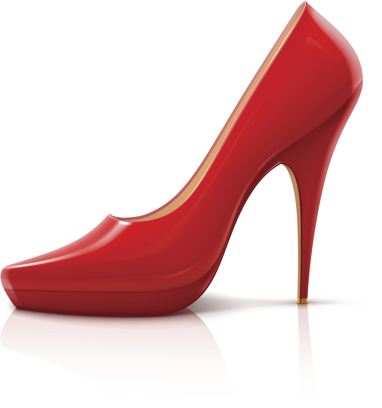 High Heels Shoes Vector