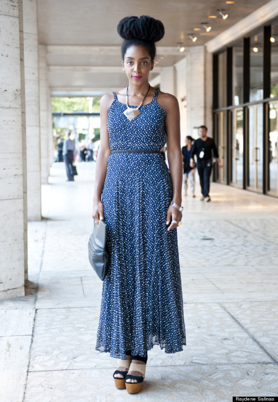 New York Fashion Week Street Style Our Favorite Looks From Day 1 2 Photos Huffpost