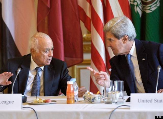 john kerry ligue arabe