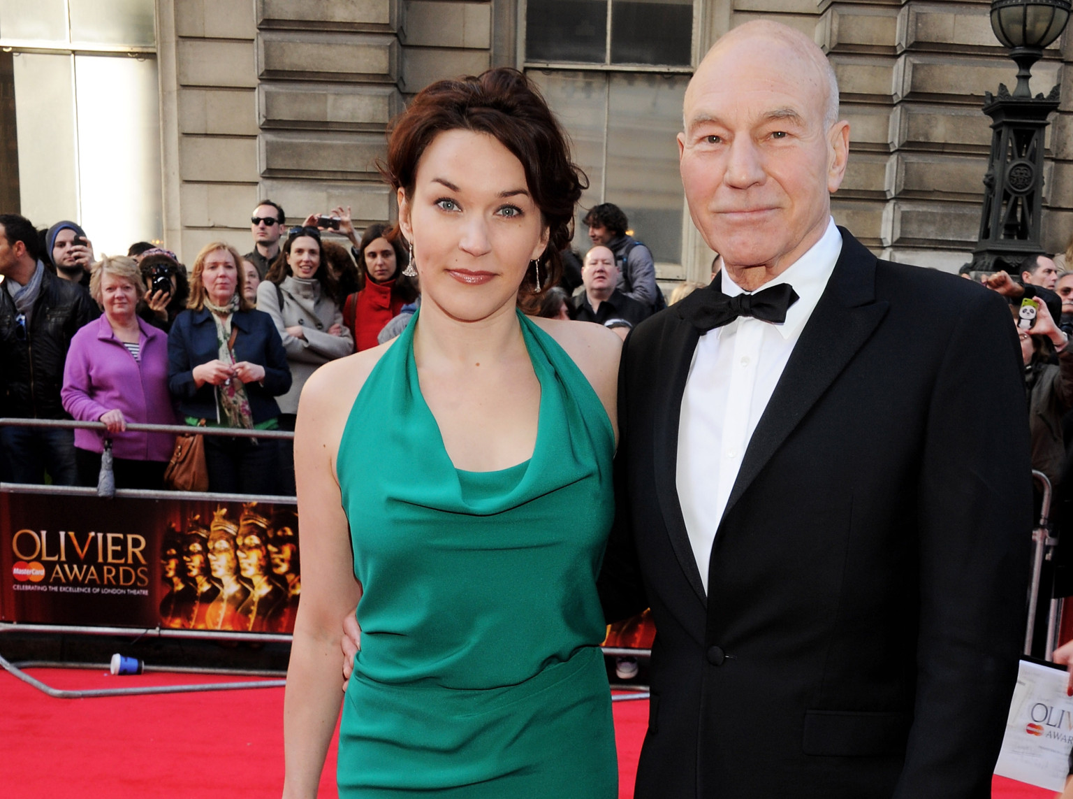 Current husband and wife couple: Patrick Stewart and Sunny Ozell