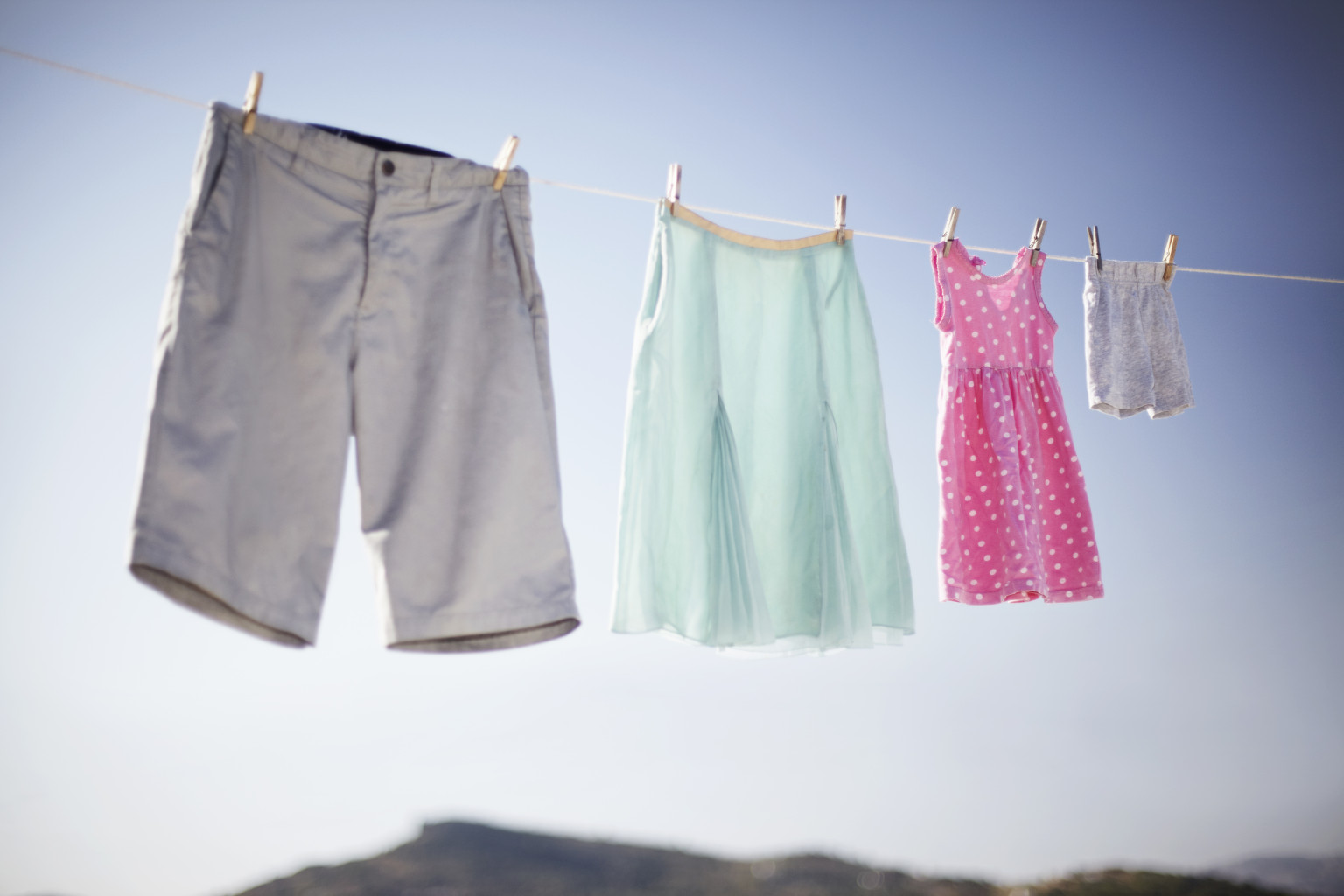 The Clothesline Ron Spangler