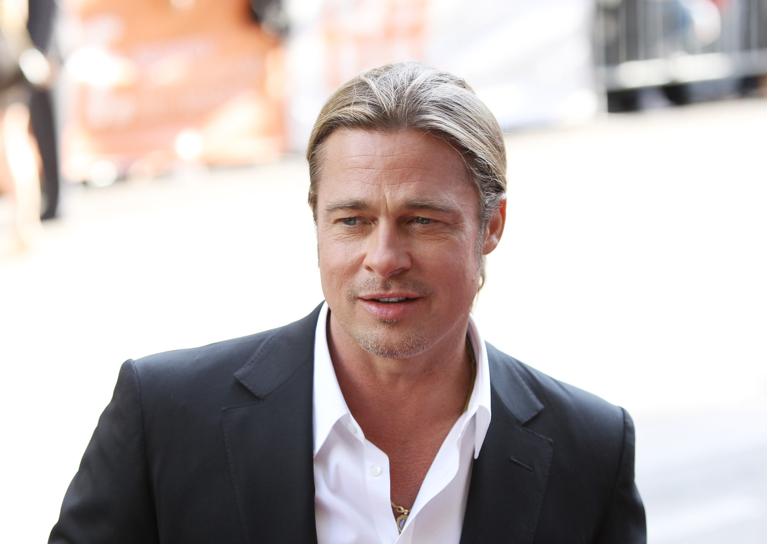 Brad Pitt World War z Hairstyle Brad Pitt on 'world War Z'