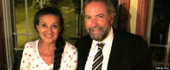 thomas mulcair catherine pinhas