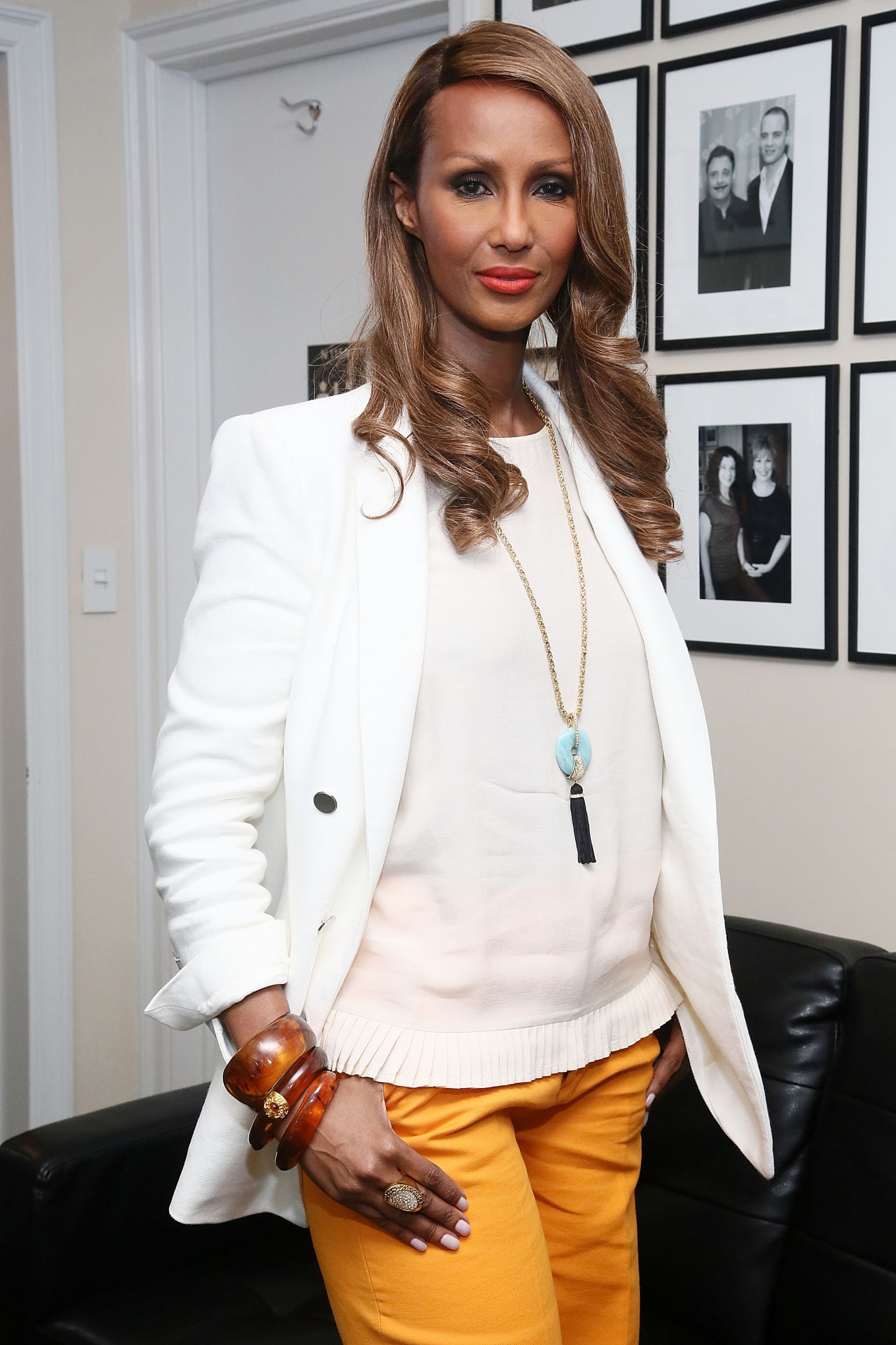 Iman Says There Were More Black Models On The Runway In